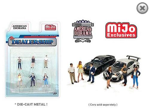 American Diorama MiJo Exclusive Dealership People Set