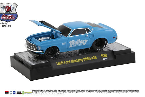 M2 Ground Pounders 20 1969 Ford Mustang Boss 429