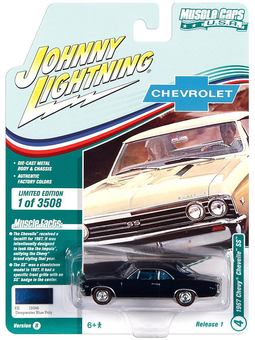 Johnny Lightning Muscle Cars 1 1967 Chevy Chevelle SS