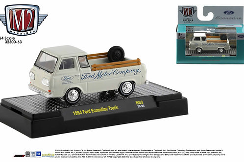M2 Auto Trucks 63 1964 Ford Econoline Pick Up Truck