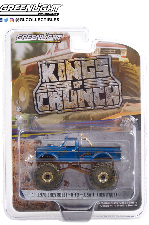 Greenlight Kings of Crunch 9 1970 Chevy K10 Pick Up
