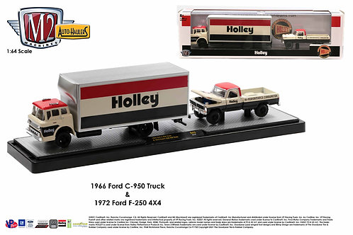 M2 Auto Hauler 43 Holley 1966 Ford C950 Box Truck 1972 Ford F250 4x4