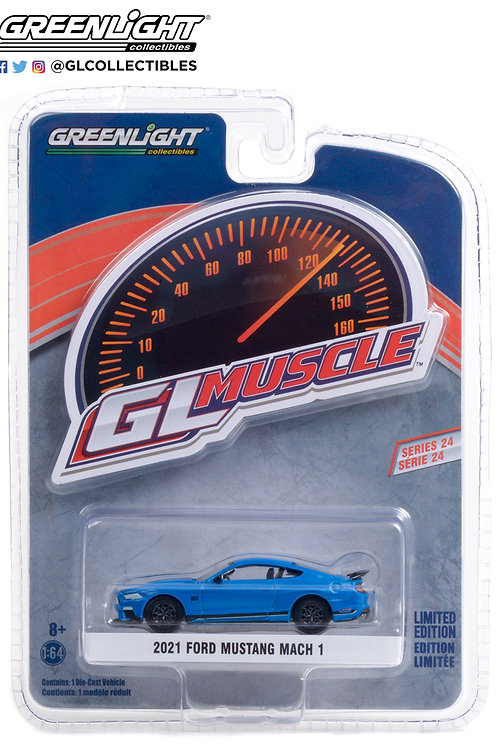 Greenlight GLMuscle 24 2021 Ford Mustang Mach 1