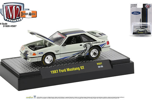 M2 Hobby Dealers Only 1987 Ford Mustang GT