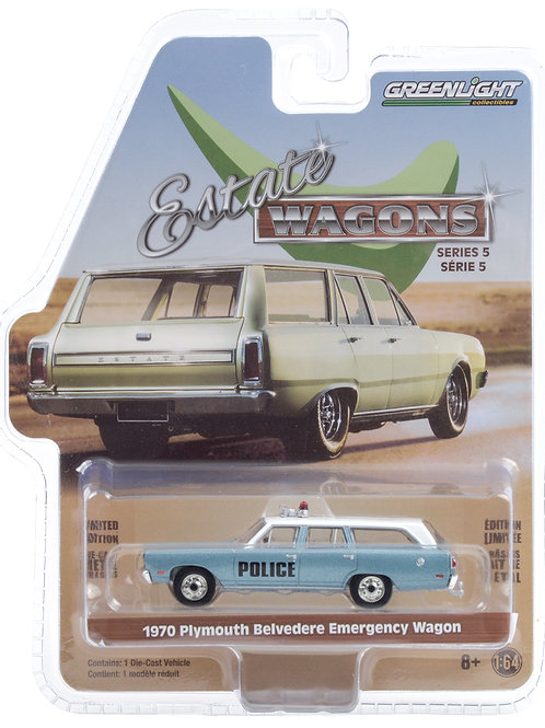 Greenlight Estate Wagons 5 1970 Plymouth Belvedere Station Wagon