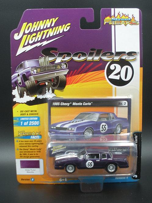 Johnny Lightning Street Freaks 4 Version A 1985 Chevy Monte Carlo