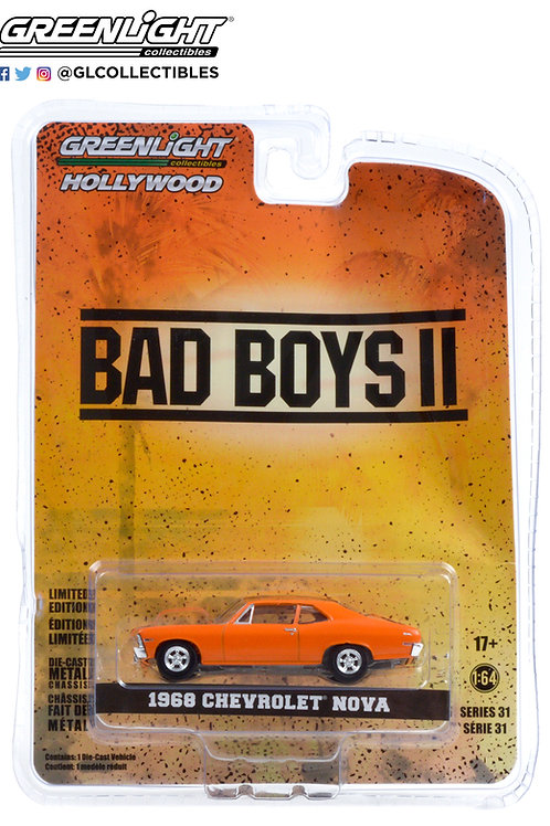 Greenlight Hollywood 31 Bad Boys II 1968 Chevy Nova