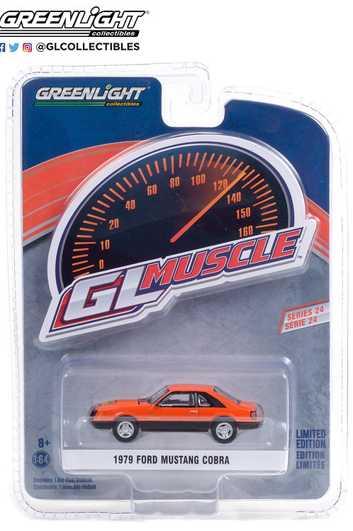 Greenlight GLMuscle 24 1979 Ford Mustang Cobra