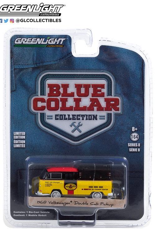Greenlight Blue Collar 8 1968 VW Doka with Canopy