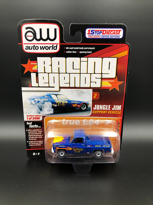 Auto World Hobby Exclusive 1973 Chevy C10 Pick Up Truck Jungle Jim