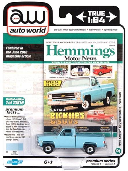 Auto World Hemmings Motor News 1979 Chevy C10 Scottsdale