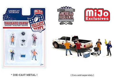 American Diorama M&J Exclusive Tailgate Party