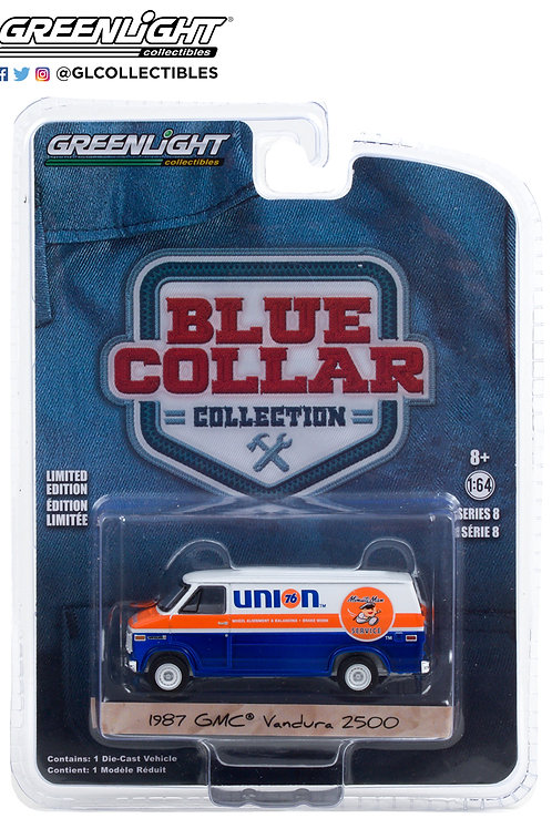 Greenlight Blue Collar 8 1987 GMC Vandura 2500 Van