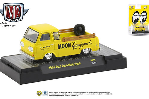M2 Hobby Dealers Mooneyes 1964 Ford Econoline Pick Up Truck