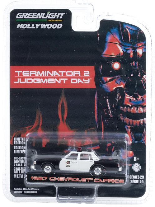Greenlight Hollywood 29 Terminator 2 1987 Chevy Caprice
