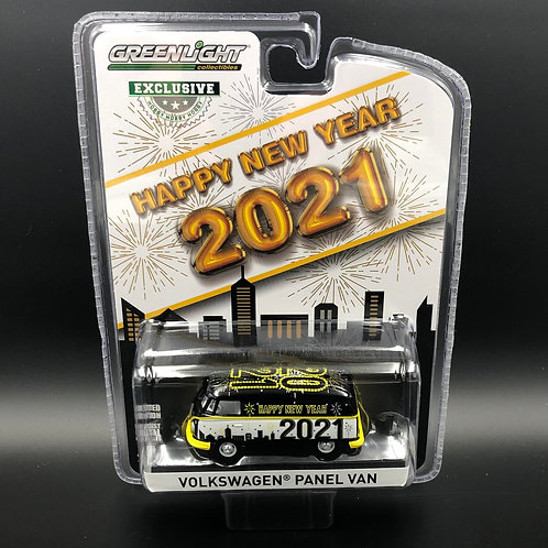 Greenlight Hobby Exclusive VW Panel Bus 2021 New Years