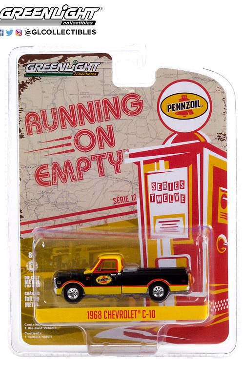 Greenlight Running on Empty 12 1968 Chevy C10 Pick Up Truck