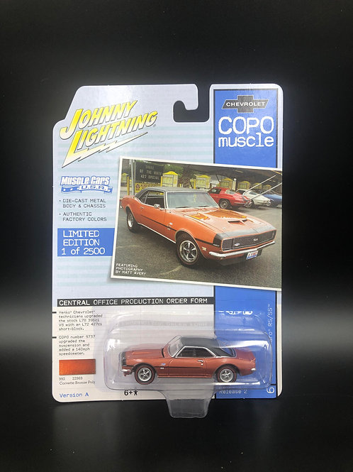 Johnny Lightning COPO Muscle 2 1968 Chevy Camaro RS/SS