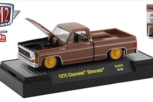 M2 MiJo Exclusive 1975 Chevy Silverado Brown Bagger Pick Up