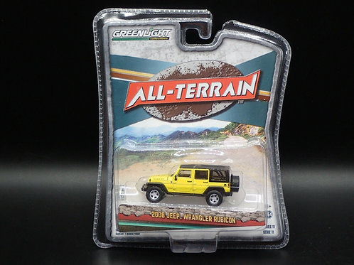 Greenlight All Terrain 11 2008 Jeep Wrangler Unlimited Rubicon