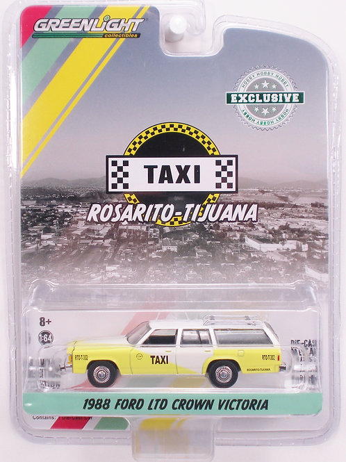 Greenlight Hobby Exclusive 1988 Ford LTD Crown Victoria Station Wagon