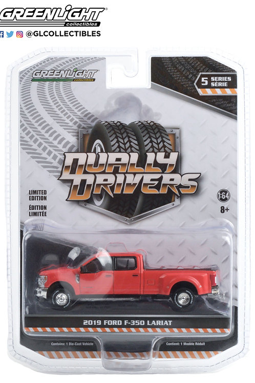 Greenlight Dually Drivers 5 2019 Ford F-350 Lariat