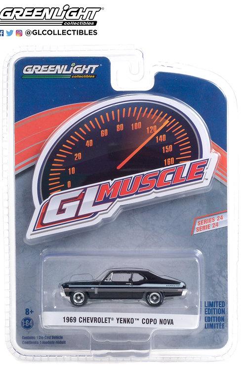 Greenlight GLMuscle 24 1969 Chevy Yenko COPO Nova