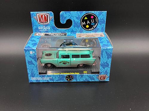 M2 Auto Thentics 1957 Chevy 150 Handyman Station Wagon Maui & Sons