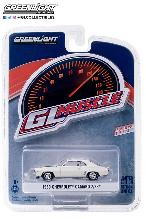 GL Muscle 23 1969 Chevy Camaro Z/28