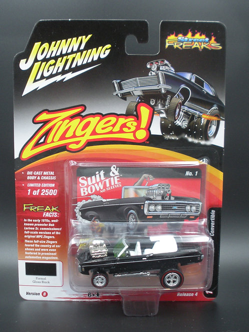 Johnny Lightning Street Freaks 4 Version B 1969 Chevy Impala Convertible Zinger