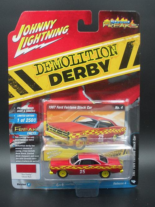 Johnny Lightning Street Freaks 4 Version A 1967 Ford Fairlane Stock Car