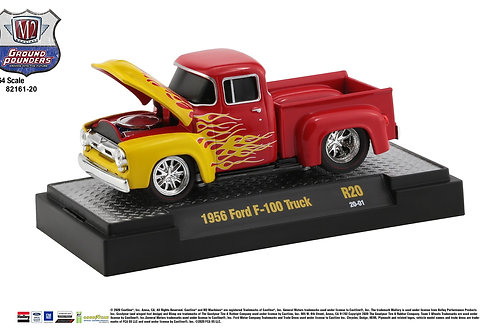 M2 Ground Pounders 20 1956 Ford F100 Pick Up Truck
