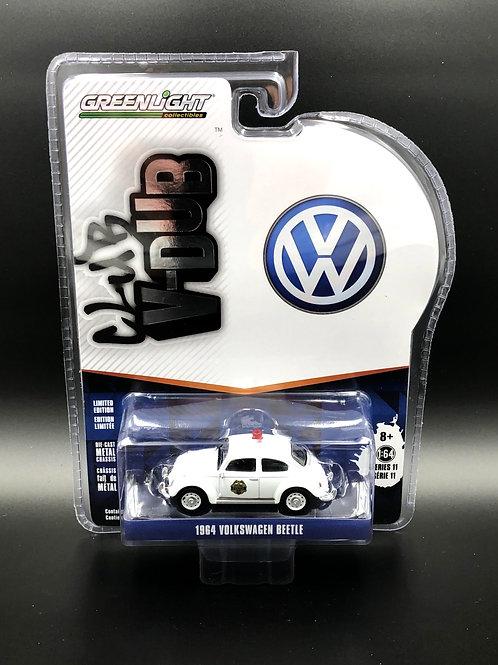 Greenlight Club V-Dub Series 11 1964 VW Police Bug