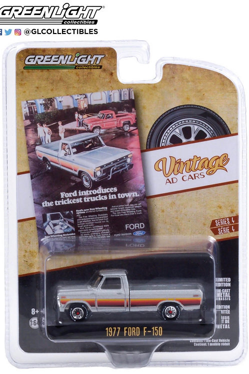 Greenlight Vintage Ad's 1977 Ford F150 Pick Up Truck