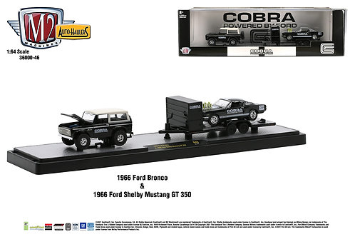 M2 Auto Haulers 46 1966 Ford Bronco 1966 Shelby GT350