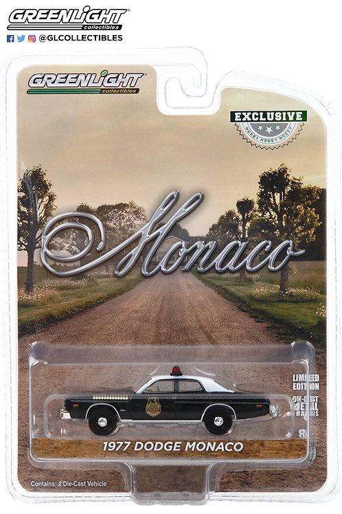 Greenlight Hobby Exclusive Hatchapee Country Sheriff 1977 Dodge Monaco