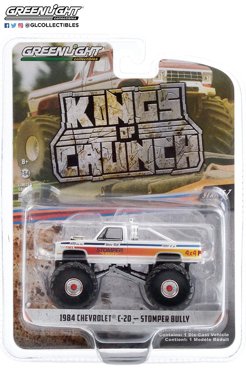 Greenlight Kings of Crunch 7 1984 Chevy C20 Stomper Bully