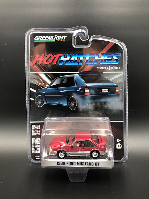 Greenlight Hot Hatches 1 1988 Ford Mustang GT