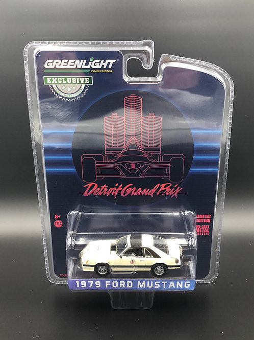 Greenlight Hobby Exclusive Detroit Grand Prix 1979 Ford Mustang