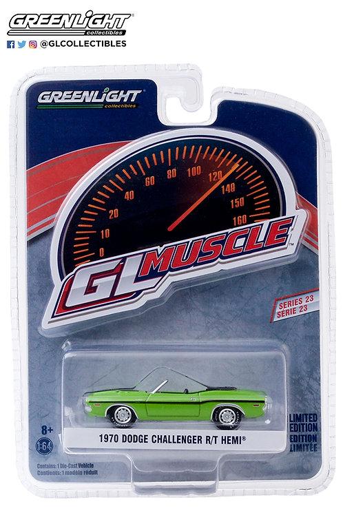 GL Muscle 23 1970 Dodge Challenger R/T Hemi Convertible