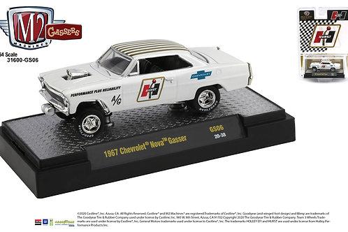 M2 Hobby Dealer 1967 Chevy II Nova Hurst Gasser