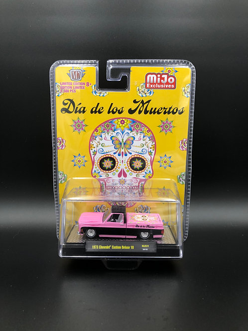 M2 MiJo Dia De Los Muertos 1973 Chevy Custom Deluxe 10 Pick Up Truck