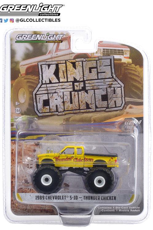 Greenlight Kings of Crunch 9 1989 Chevy S10 Thunder Chicken