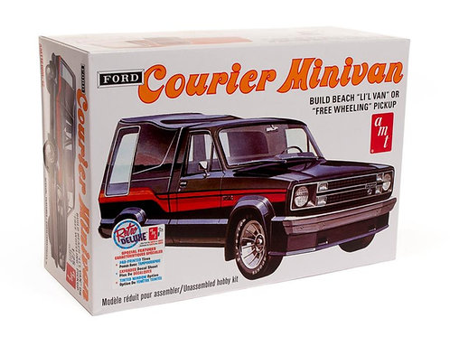 AMT 1978 Ford Courier Minivan Pick Up Truck Model Kit