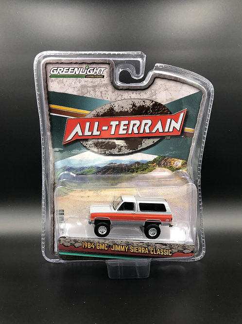 Greenlight All Terrain 10 1984 GMC Jimmy Sierra Classic 4x4