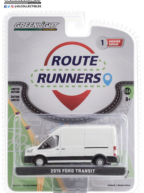 Greenlight Route Runners 1 2015 Ford Transit