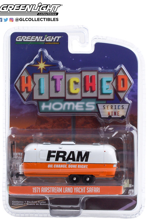 Greenlight Hitched Homes 9 1971 Airstream Land Yacht Double Axle Fram