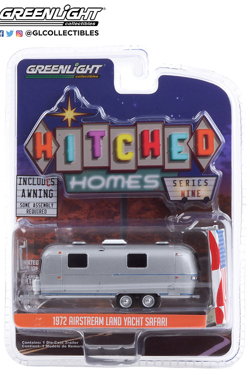 Greenlight Hitched Homes 9 1972 Airstream Land Yacht Double Axle