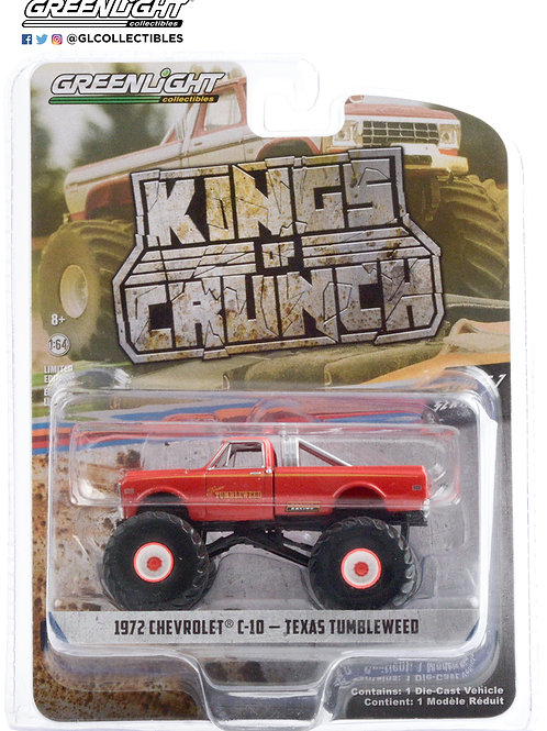 Greenlight Kings of Crunch 7 1972 Chevy C10 Texas Tumbleweed