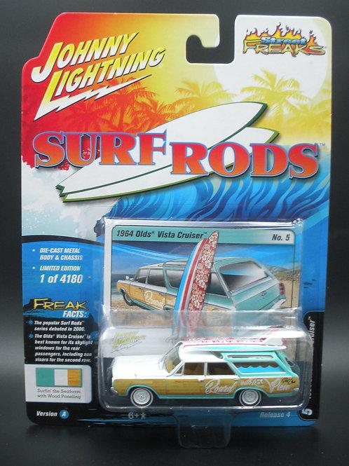 Johnny Lightning Street Freaks 4 Version B 1964 Olds Vista Cruiser Station Wagon
